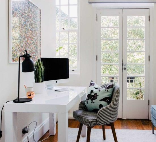 Home office designed by Emma Blomfield