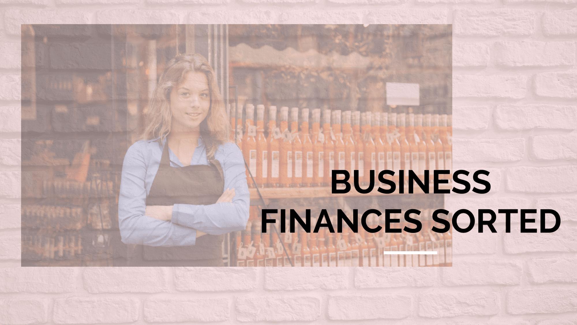 Business Finances Sorted